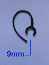 UNIVERSAL OHRBÜGEL EARHOOK HOOK 9mm FÜR HEADSET HEAD SET BLUETOOTH BLACK