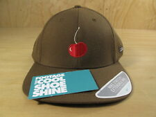 STUSSY x NIKE DUNK SB CHERRY STRETCH FIT BASEBALL HAT BROWN 2005 SKATEBOARDING