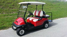 2014/2017 Club Car Hi Spd '16 Batteries 4 Pass Lites RED Precedent Golf Cart NR