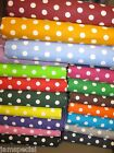 """Polka Dot Small 3/8"""" Fabric BTY by yard 36x44 UPICK COLOR quilting cotton little"""