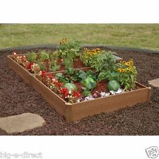 NEW Greenland Gardener Outdoor Raised Bed Planter Box Garden Kit - No Tool Need