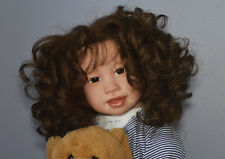 Reborn Kimmi by Jannie de Lange Standing Toddler with Rooted Human Hair