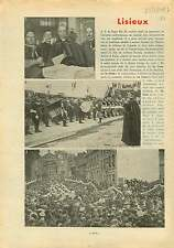 Pio Pie XI Parade Basilique Sainte-Thérèse de Lisieux France 1937 ILLUSTRATION