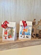 12 IKEA Vintermys Adventstüten Weihnachtstüten Papiertüten Geschenktüte Tüte Neu