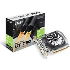 Msi Video Card N730-4gd3v2 Gt 730 4gb Ddr3 128b Pcie2.0 Dvii Hdmi Vga Retail 3B5