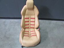 Ferrari F458 Italia, RH, Right Front Seat, Daytona, Beige/Red, Some Marks, Used