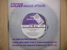 "BBC Sound Effects 7"" Record - Steam Trains, BR Standard Class 4, Severn Valley"