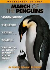 Used March of the Penguins (DVD, 2005, Widescreen)