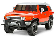 Tamiya 84401 1/10 EP RC CC-01 4WD Truck Toyota FJ Cruiser Orange Edition w/ESC