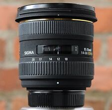 SIGMA 10-20mm F4-5.6 EX DC HSM Ultra Wideangle AF Lens for NIKON - Very Nice!