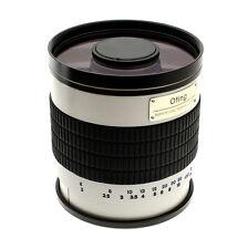 OBJECTIF 500mm F 1:6.3 pour reflex Nikon D7200 D7100 D7000 D5500 D5300 + T2