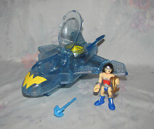 Fisher Price Imaginext Wonder Woman Invisible Jet, Missile, Figure, Accessory