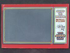 Aristocrat Slot Machine MK 2.5 Jubilee Video Poker Game Monitor Glass