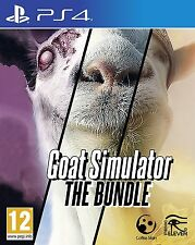 Goat Simulator: The Bundle [Playstation 4 PS4 Goatz MMO DLC Add-ons] Brand NEW