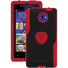 Trident Case AG-HTC-8X-RED Aegis Series for HTC 8XT - Retail Packaging - Red