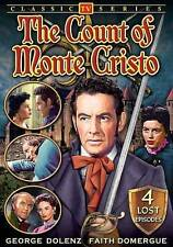 The Count of Monte Cristo (TV Classics), Good DVD, Faith Domergue, George Dolenz
