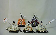 #41 Set of 5 Japanese HINA Dolls / ZUISHIIN & SANNIN-SHICHO w/ Tools