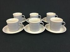 Mikasa Discovery Aruba Ben Seibel SIX Cups and Saucers