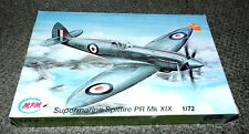 MPM 1/72  Supermarine Spitfire PR Mk.XIX -  Multi-media Kit New in open box.