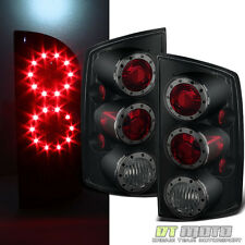 Black Smoke For 2002-2006 Dodge Ram 1500/2500/3500 LED Tail Lights Left+Right