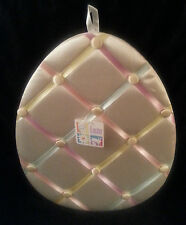 Hanging Easter Egg Memory board Pastel Ribbons Pictures Photos Keepsake New