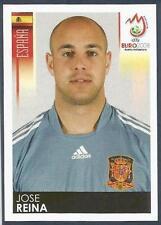 PANINI EURO 2008- #435-ESPANA-SPAIN & LIVERPOOL-JOSE REINA