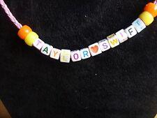 taylor swift heart bead necklace/bracelet