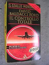 GIALLO MONDADORI supplemento # 2613 - DAVID BALDACCI FORD - IL CONTROLLO TOTALE