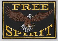 FREE SPIRIT EAGLE BIKER PATCH
