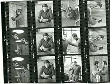 ROBERT WAGNER DIRECTOR ON SET IT TAKES A THIEF RARE ORIG 1967 ABC TV PROOFSHEET
