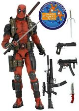 "NECA 1/4 Scale 16 18"" DEADPOOL Epic Marvel 00 Figure Sealed IN HAND US SELLER"