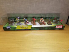 Marvel Disney Store Exclusive Avengers Figurine Playset, 7 figures, New!