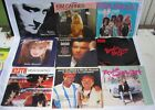 Lot of 9 45 Records Collins Poco Tiffany KeithWillie Nelson Stewart Picture Slee