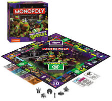 MONOPOLY RETIRED! TEENAGE MUTANT NINJA TURTLES EDITION GAME USAOPOLY