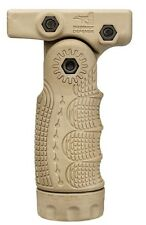 TFL-S - TACTICAL FOLDING FOREGRIP By Fab-Defense Tan Desert FDE color