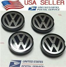 4pcs Wheel Center Hub Caps 55MM For VW Beetle Golf Jetta Eurovan 6N0 601 171