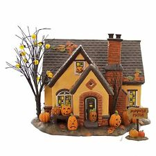 "Department 56 Halloween ""THE PUMPKIN HOUSE"" NIB FREE SHIPPING"