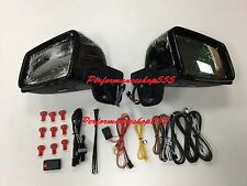 ARROW TYPE LED MIRROR COVER ASSEMBLY FOR '86-'13 BENZ W463 G-CLASS BLACK