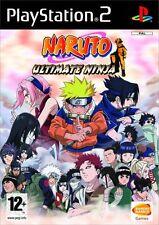 Jeu PS2 - NARUTO Ultimate Ninja - Jeu PlayStation 2