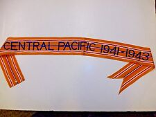 rst101 WW 2 US Army Flag Streamer Pacific Central Pacific 1941-1943