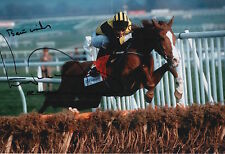 TONY MCCOY HAND SIGNED MAKE A STAND 12X8 PHOTO AP MCCOY.
