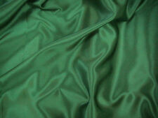 Bottle Green Slipper Satin/Silky/Shiny Dress Fabric 150cmWide SOLD BY THE METRE