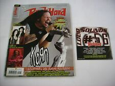 ROCK HARD ITALIA - SETTEMBRE 2007 - KORN - NIGHTWISH - HIM - CON CD ALLEGATO