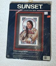 Dimensions Sunset Noble Reflections Counted Cross Stitch Kit 13633