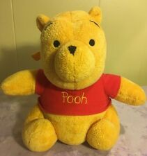 Musical Winnie The Pooh Baby Pull Crib Plush Toy Stuffed Animal 8.5""