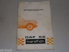 Manuale di istruzioni manuale istruzioni DAF 55 Marathon, stand 07/1971