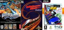 rollercoaster tycoon 3 deluxe edition & ultimate ride & them park inc