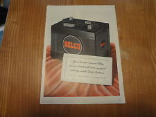 """1945 Delco Batteries Vintage Magazine Ad """"Again the new General Motors cars..."""""""