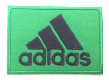 Adidas Patch Green Iron-On Embroidered Badge Applique Toppa Bordado Aufnäher