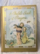 "Vintage 1941 ""A CHILD'S BOOK OF PRAYERS"" by Louis Raymond/Masha for Random House"